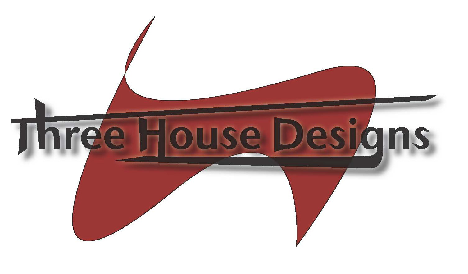 Three House Designs Logo